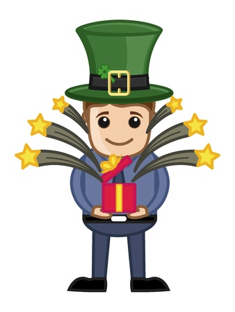 st  patrick's day: St  Patrick s Day Gift - Business Cartoon Characters