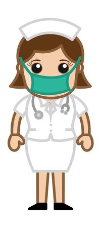 操作の劇場 - 医師医療文字の概念で看護師