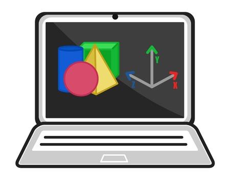 programme: Programa 3D - Concepto CAD