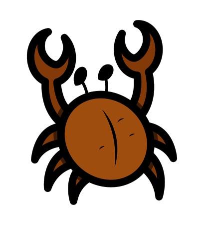 Crab Cartoon Stock Vector - 21505408
