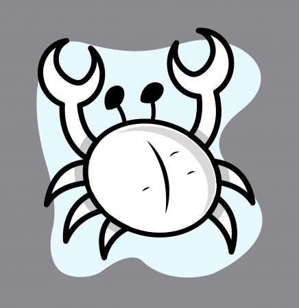 cangrejo caricatura: Ilustraci�n Crab Cartoon