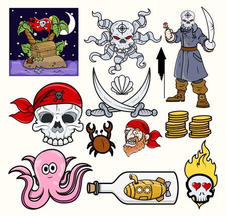 secret love: Piratas Vector Vectores