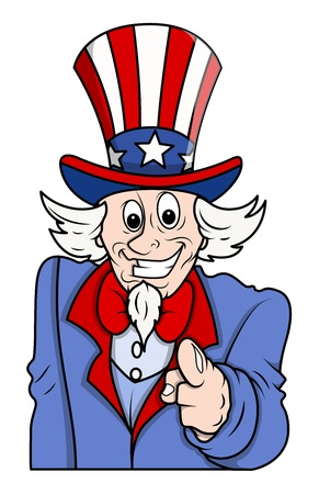 point i: I want you - Uncle sam pointing fingure to the viewer