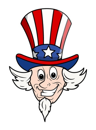 governor: Uncle Sam Cartoon Face