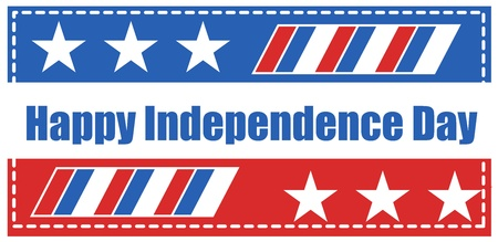 happy independence day - vector illustration Stock Vector - 21959177