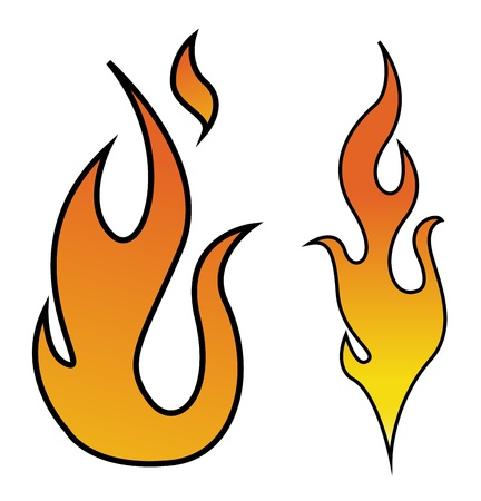 Flame Vector Vector