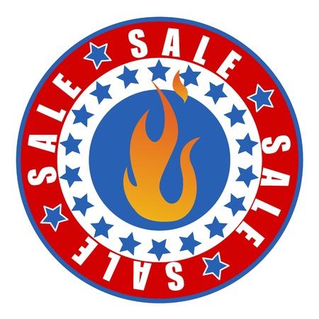 sale badge vector Stock Vector - 21959252