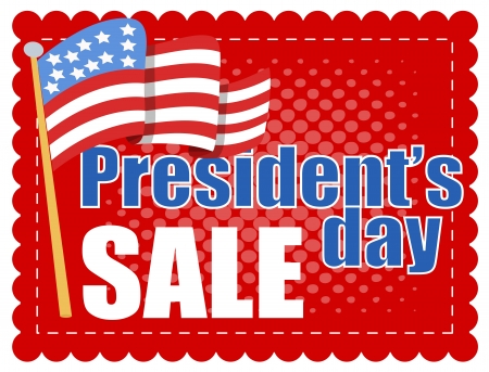 President Day Sale Stock Vector - 22000165