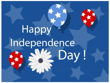 i want you: Happy independence day background - 4th of july Vector Illustration