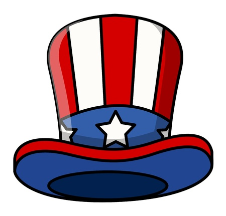 sam: cartoon uncle sam cap