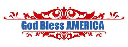 神ブレス アメリカ - ベクトルの 7 月 4 日