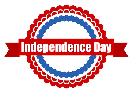 Independence day - 4th of july Vector Stock Vector - 22000343