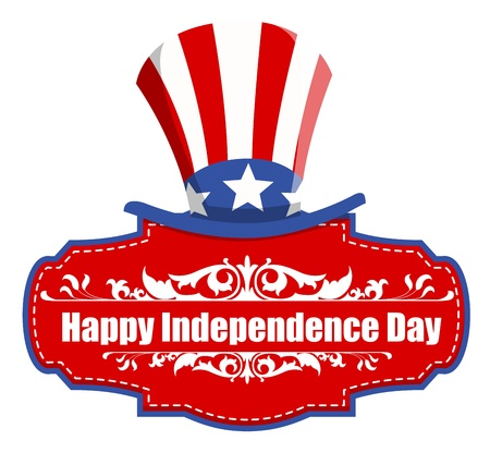 happy independence day - 4th of july Vector Stock Vector - 22000350