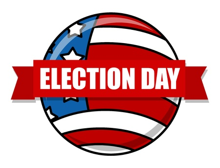 Election Day Vector Illustration Stock Vector - 22068058