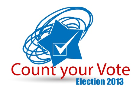Election Day - Count Your Vote - America - Vector Stock Vector - 22068065