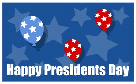 Happy Presidents Day Sale Vector