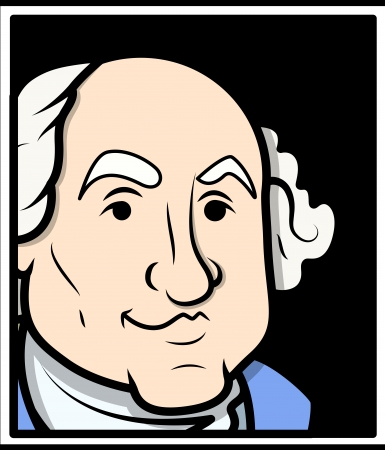 george washington: George Washington Vector