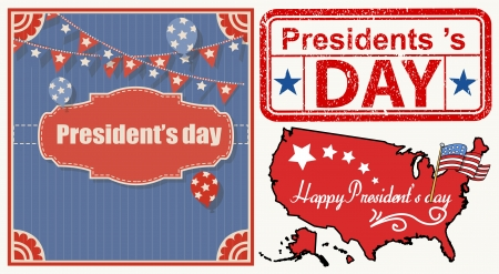 Presidents Day Grunge Graphics Vector