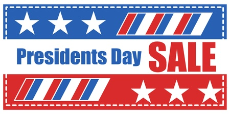 lincoln: Presidents Day Sale Banner Vector Illustration