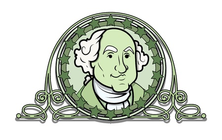 george washington: George Washington Vector Illustration Clip-art