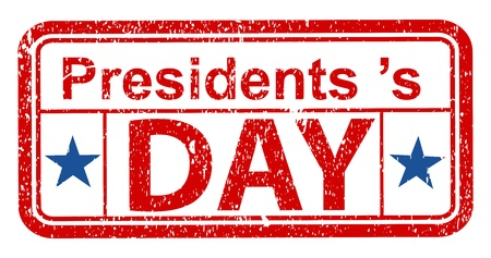 Presidents Day Grunge Stamp Vector Vector