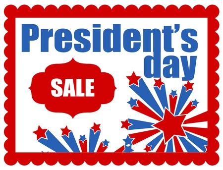 president???s: Il presidente s Day Vector Banner