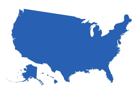 united states map: USA Map Vector