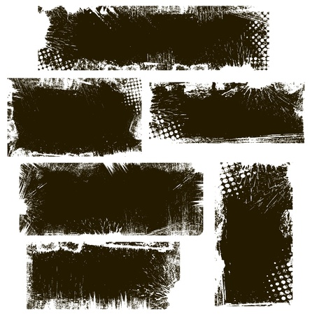 Grunge Backgrounds Vector Banners Stock Vector - 22170666