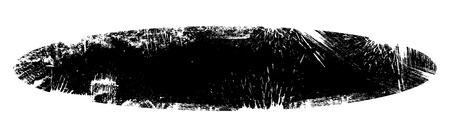 Grunge Wide Banner Background with Rough Edges Illustration