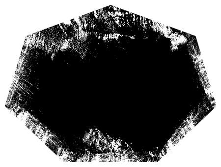 Ragged Border - Grunge Vector Illustration Background Stock Vector - 22170713