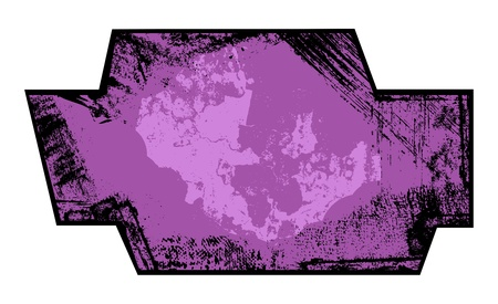 Grunge Banner - Messy Shape Vector