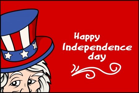 Happy USA Independence Day Vector Illustration