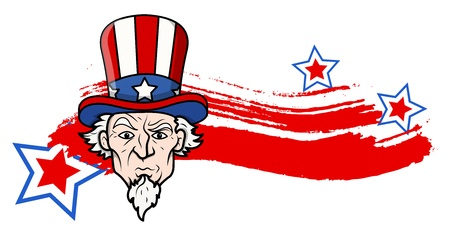 sam: uncle sam - 4th of July Vector theme Design Illustration