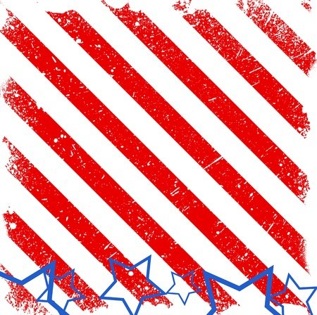 strip background - 4th of July Vector theme Design Stock Vector - 22318192