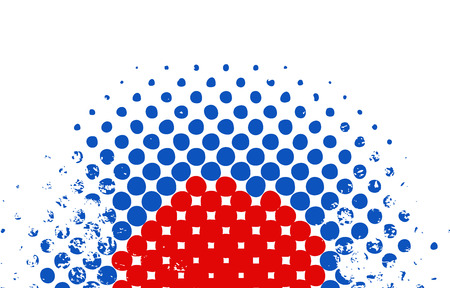 halftone design - USA Independence Day Vector theme Design Illustration