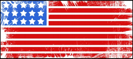 flag - US 4th of July - Independence Day Vector Design Illustration