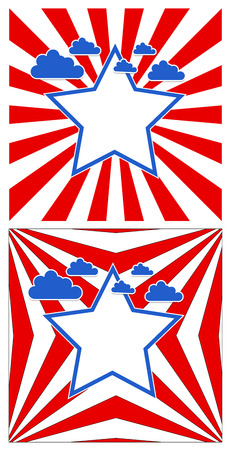 background - Patriotic USA theme Vector Stock Vector - 22318354