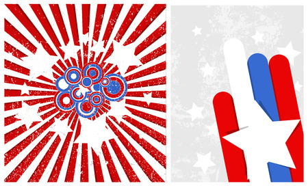 celebration backgrounds - Patriotic USA theme Vector Illustration