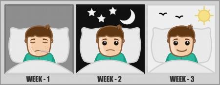 Health Treatment - Medical Cartoon Vector Character Stock Vector - 22206888