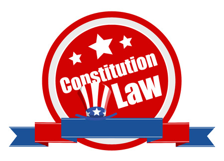 Law - Constitution Day Vector Illustration Illustration