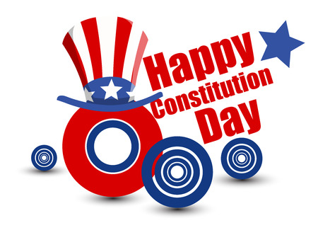 constitution: Modern - Constitution Day Vector Illustration