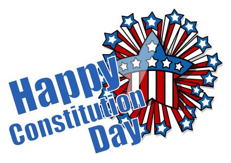 Celebration - Constitution Day Vector Illustration Stock Vector - 22318524