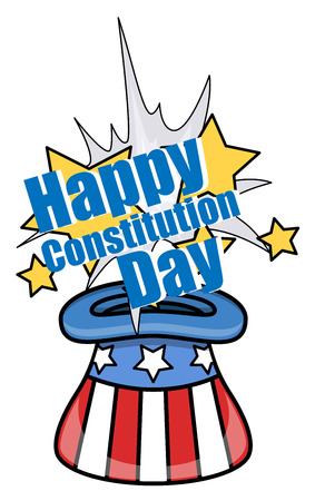 America s Constitution Day Vector Illustration Illustration