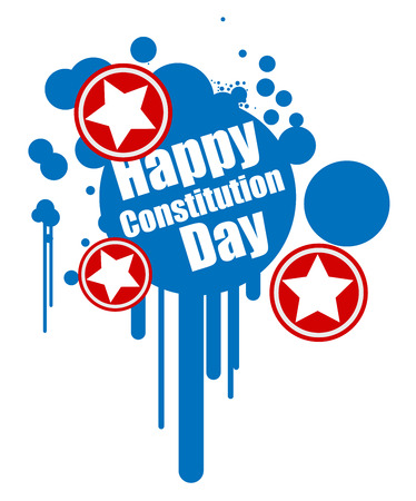 grunge design - Constitution Day Vector Illustration Stock Vector - 22318575