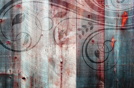 wooden retro grunge background photo