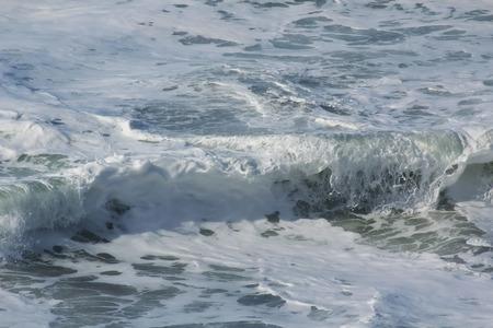 olas de mar: las olas del mar de fondo Foto de archivo