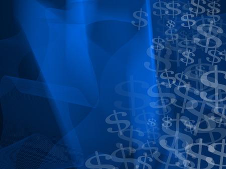 finance background: dark blue finance background