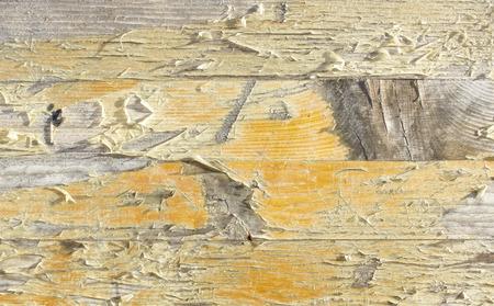 peel off paint on wood photo