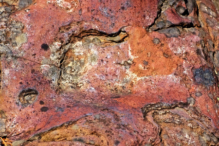 decayed: decayed rock