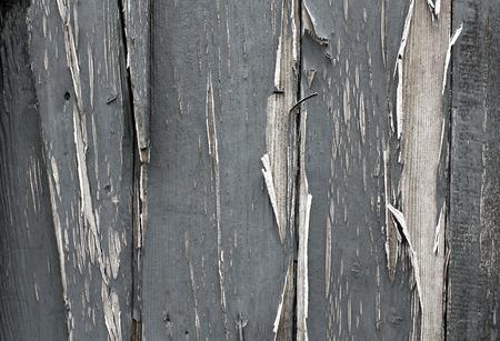 distressed paint on wood photo